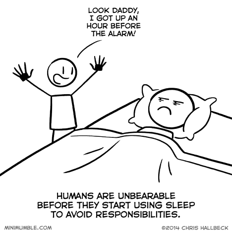 kids sad but true alarms web comics