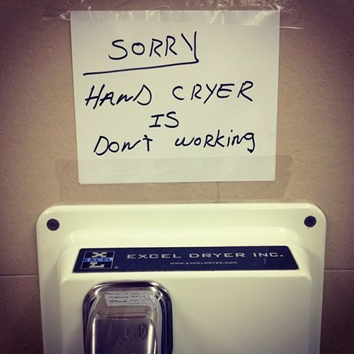 facepalm bathroom spelling - 8126162432