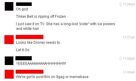 "Reaction to ""Tinker Bell and the Secret of the Wings"""