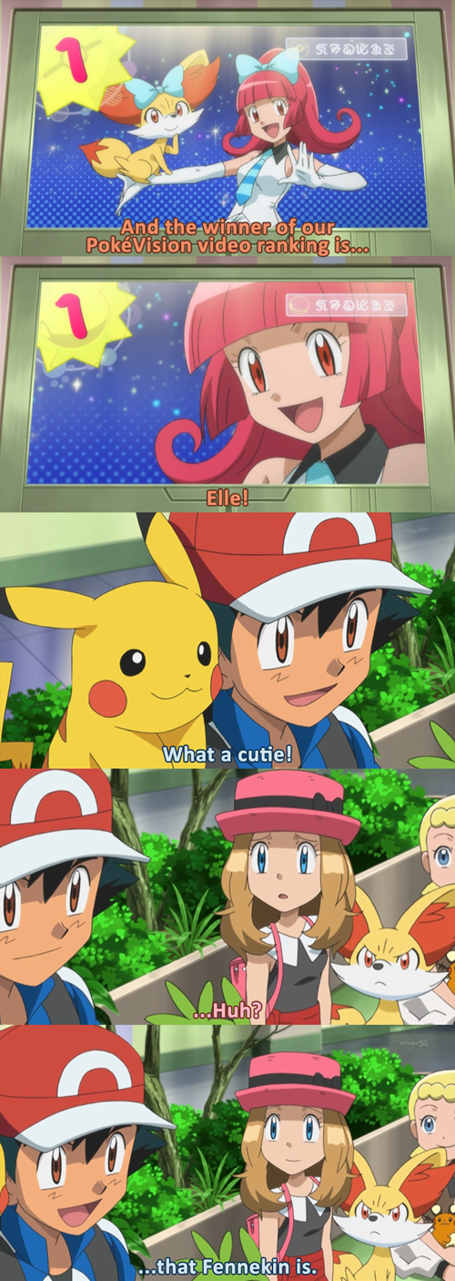ash Pokémon anime serena - 8127425024