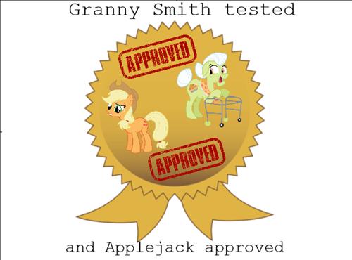 applejack elements of harmony granny smith - 8127612928