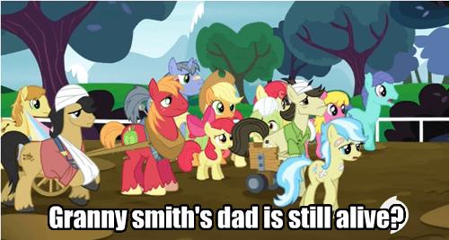 background pony granny smith immortal - 8127619072