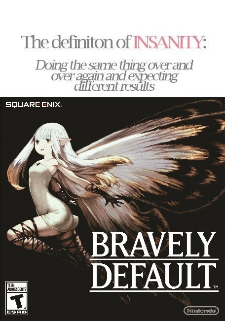 insanity,bravely default