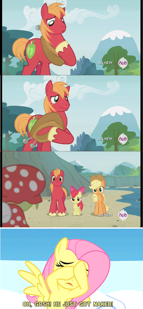 naked Big Macintosh fluttershy - 8128370688