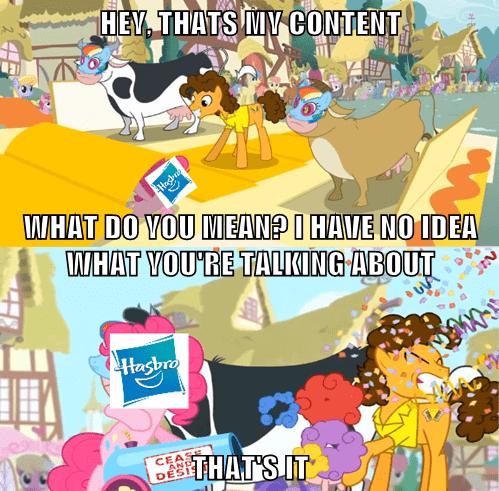 cease and desist Hasbro pinkie pie - 8128803584