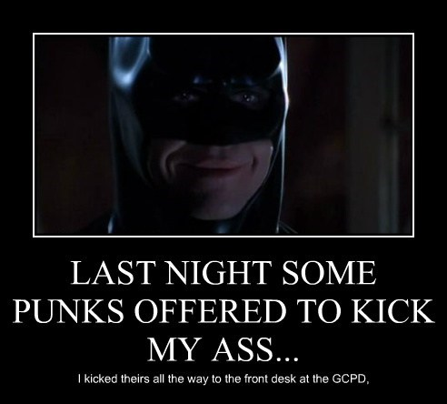 LAST NIGHT SOME PUNKS OFFERED TO KICK MY ASS...