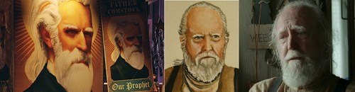totally looks like hershel greene bioshock - 8129128960