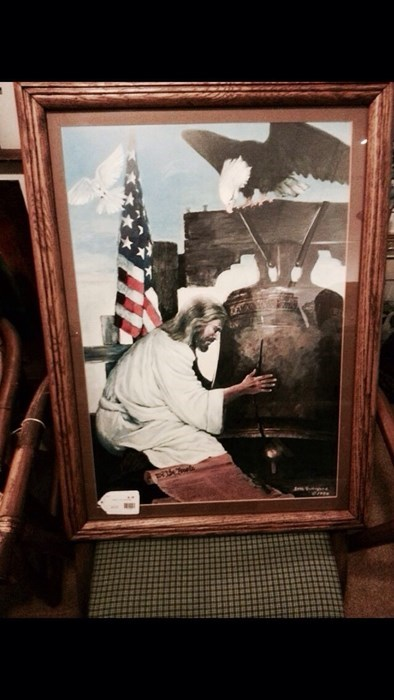 jesus art paintings the liberty bell - 8129279232