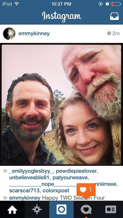 Rick Grimes beth greene hershel greene The Walking Dead - 8129284096