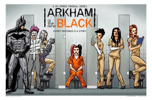 Fan Art,orange is the new black,batman