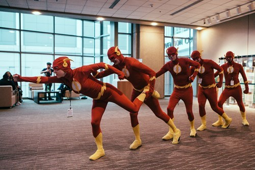 cosplay,convention,the flash