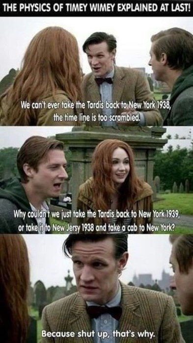 shut up 11th Doctor amy pond - 8129296384