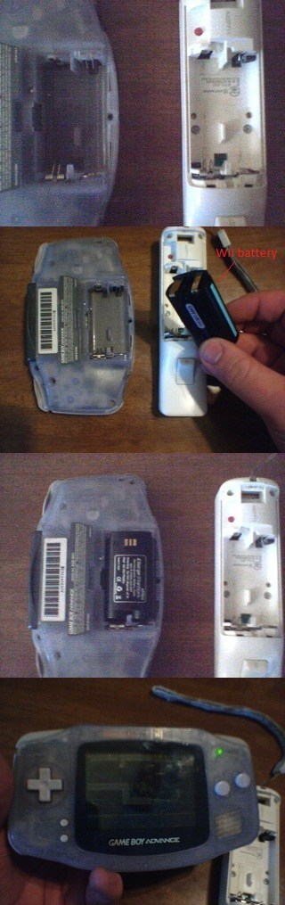 game boy advance,batteries,wii