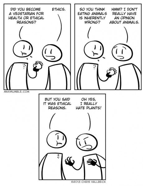ethics vegetarians web comics - 8129752320