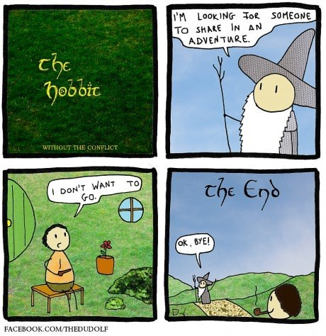 The Hobbit web comics - 8129763072