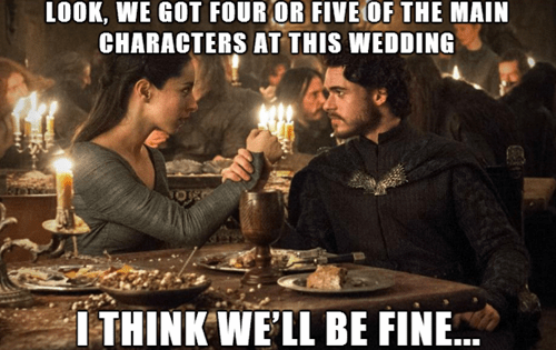 red wedding,Game of Thrones