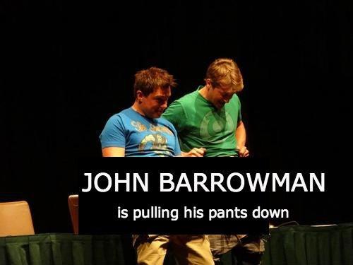 wtf undies sexy times john barrowman - 8129930496