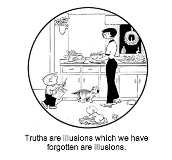 Family Circus nietzsche web comics - 8129984768
