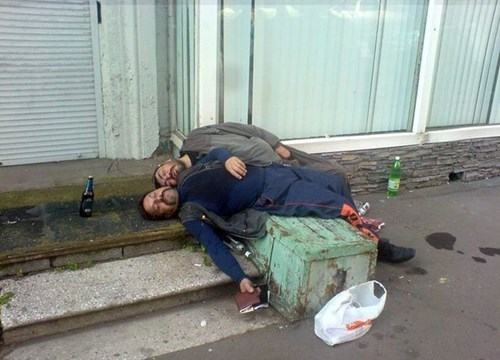 russia,wtf,drunk,passed out,funny