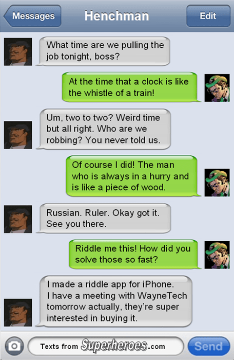 batman riddles Riddler - 8130132736