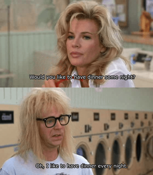 garth,waynes world,funny