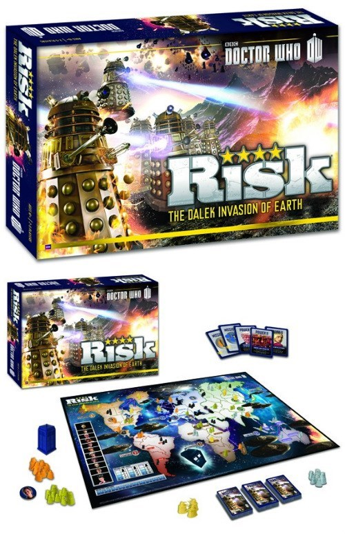 risk daleks board games doctor who - 8130172160
