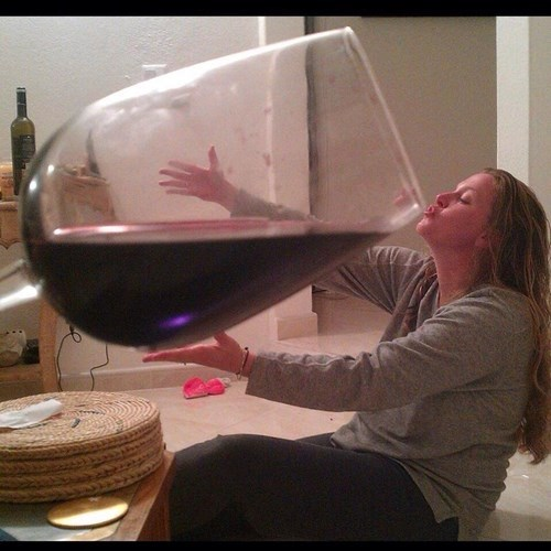 wine,glass,huge,perspective,funny