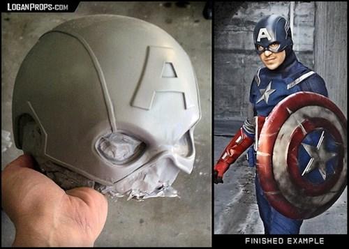 cosplay helmet captain america - 8130227456