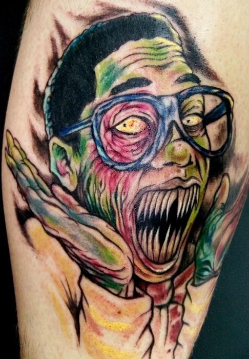 scary steve urkel tattoos - 8130245120
