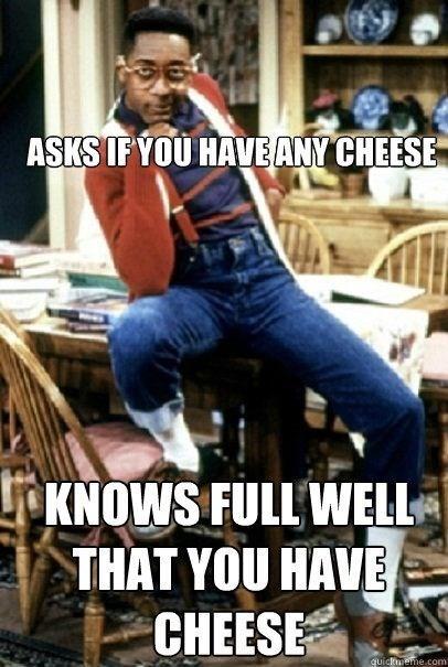 cheese steve urkel funny - 8130246912
