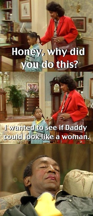 makeup the cosby show funny - 8130252032