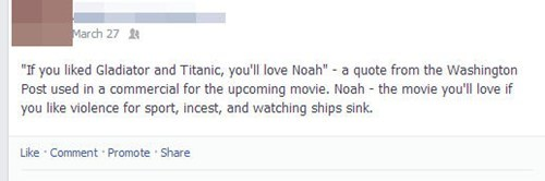noah movies suggestion