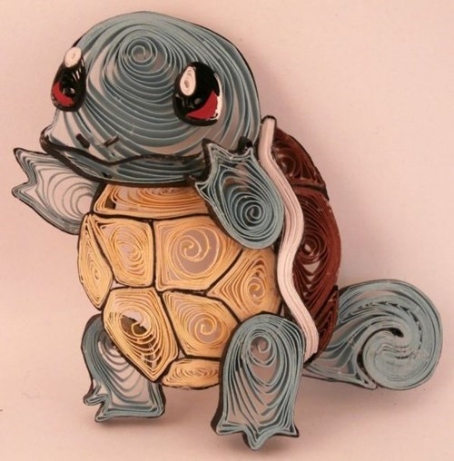 art,design,squirtle,paper