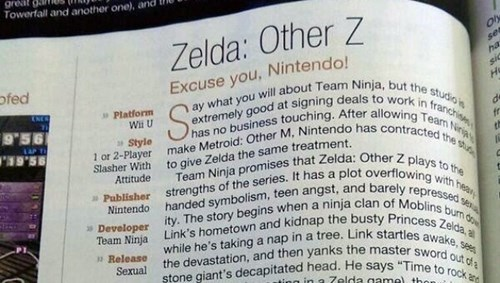 Metroid game informer zelda Video Game Coverage - 8130998272