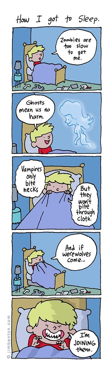 kids,werewolves,vampires,zombie,web comics