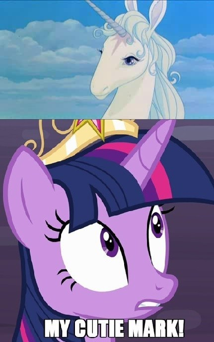 cutie mark,twilight sparkle,The Last Unicorn