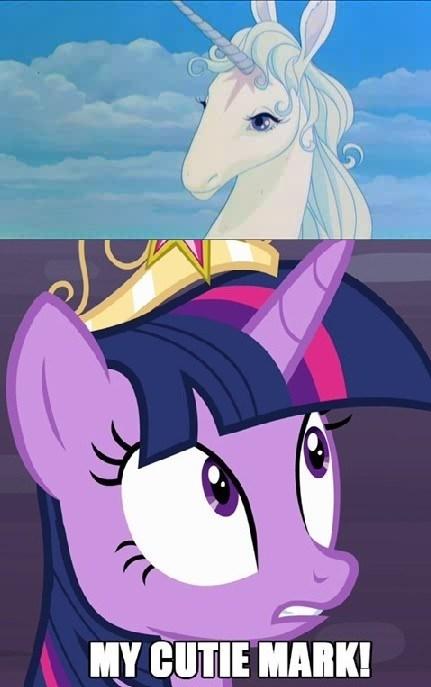 cutie mark twilight sparkle The Last Unicorn - 8131017472