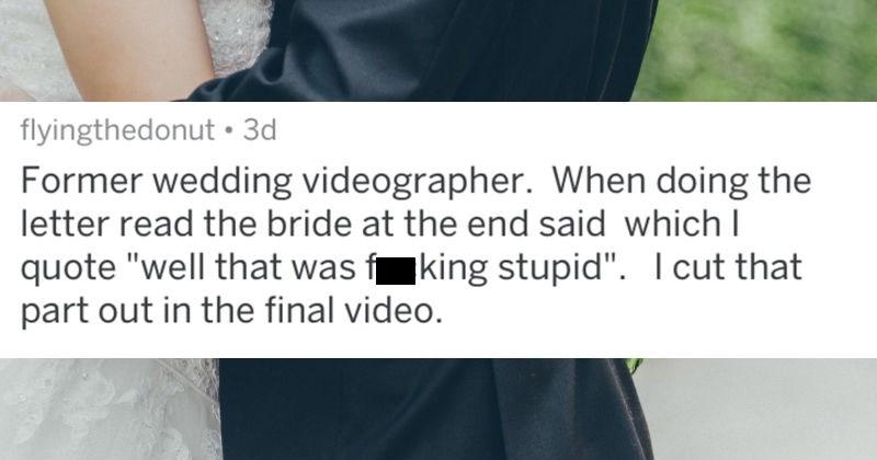 wedding photographer stories