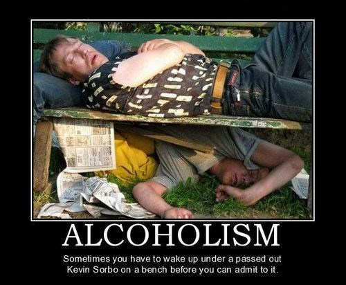 drunk passed out Kevin Sorbo funny