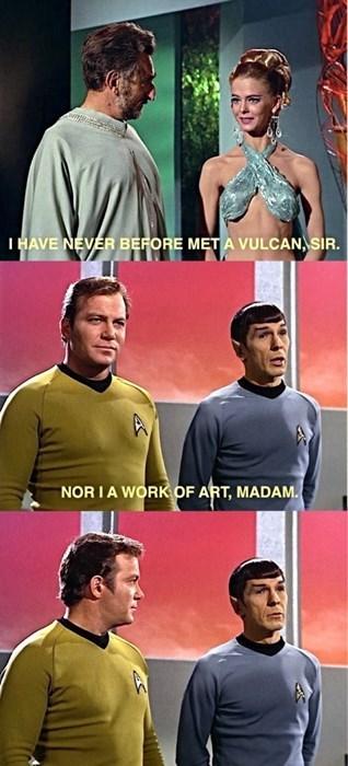 pickup lines Spock Star Trek funny - 8131143168