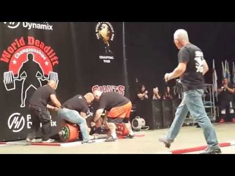 Strongman Breaks Record With Historic 500kg Lift and Nearly Died Doing It
