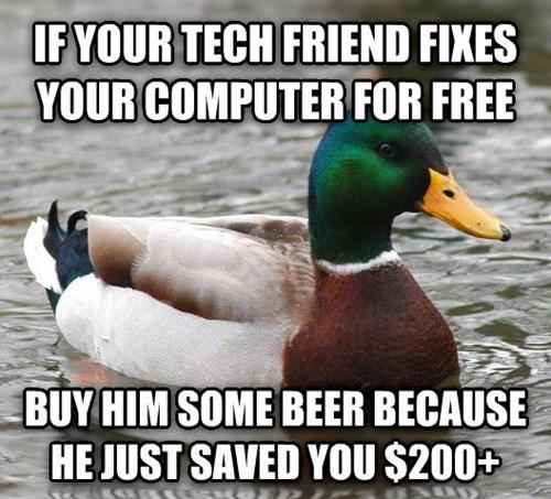 Actual Advice Mallard tech support - 8131167488