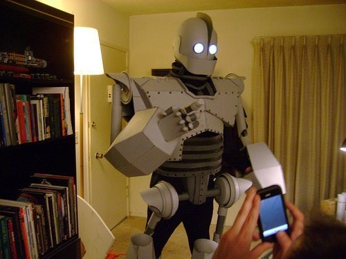 cosplay awesome the Iron Giant - 8131207936