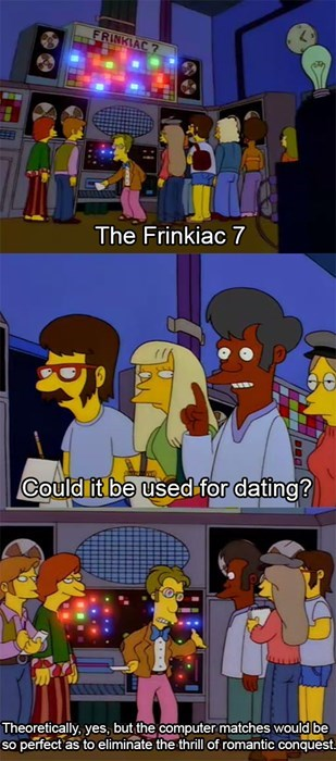 the simpsons,online dating,funny