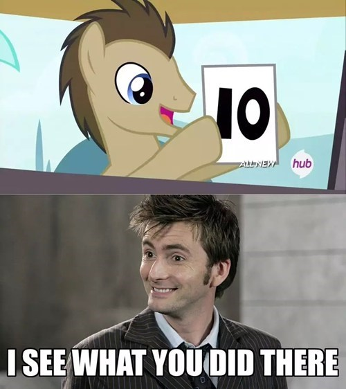 doctor who,background pony,MLP,doctor hooves