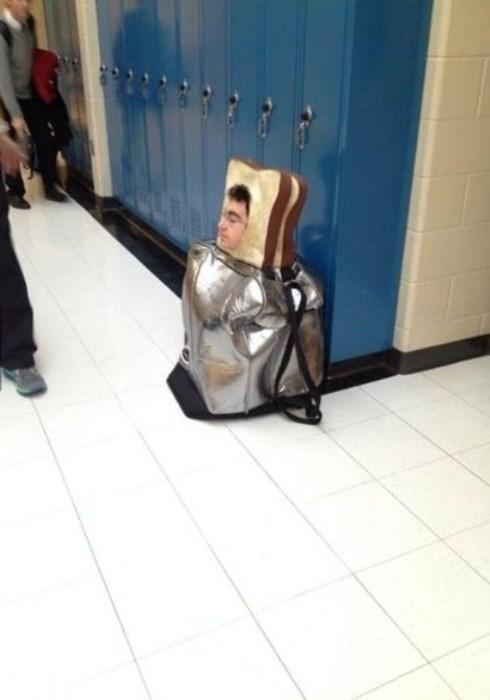 costume wtf bread funny