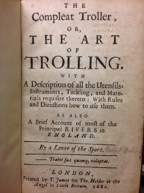 the art of trolling,books