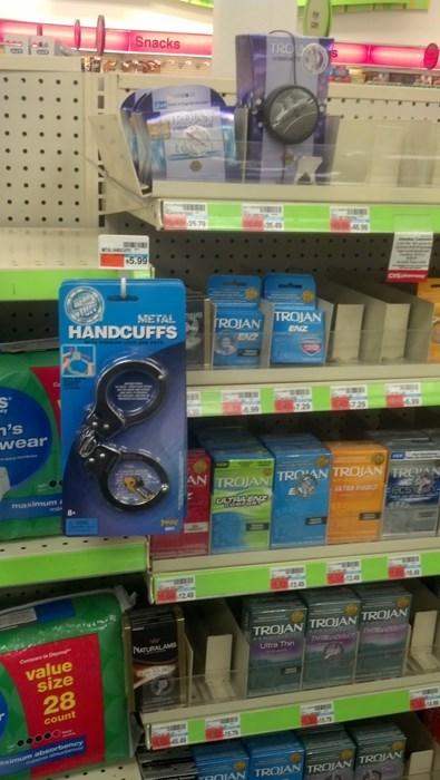 monday thru friday work handcuffs - 8131317248