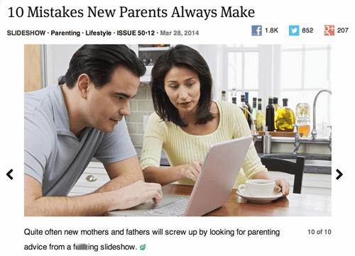humor kids parody parenting advice - 8131368960