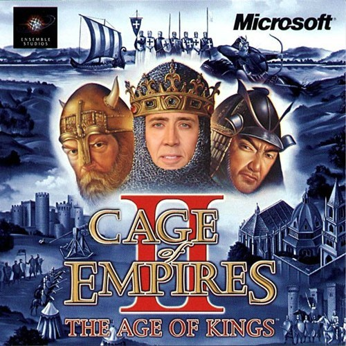 age of empires nicolas cage - 8131390208